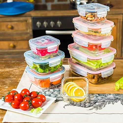Storage Containers w/Locking Lids | Airtight,