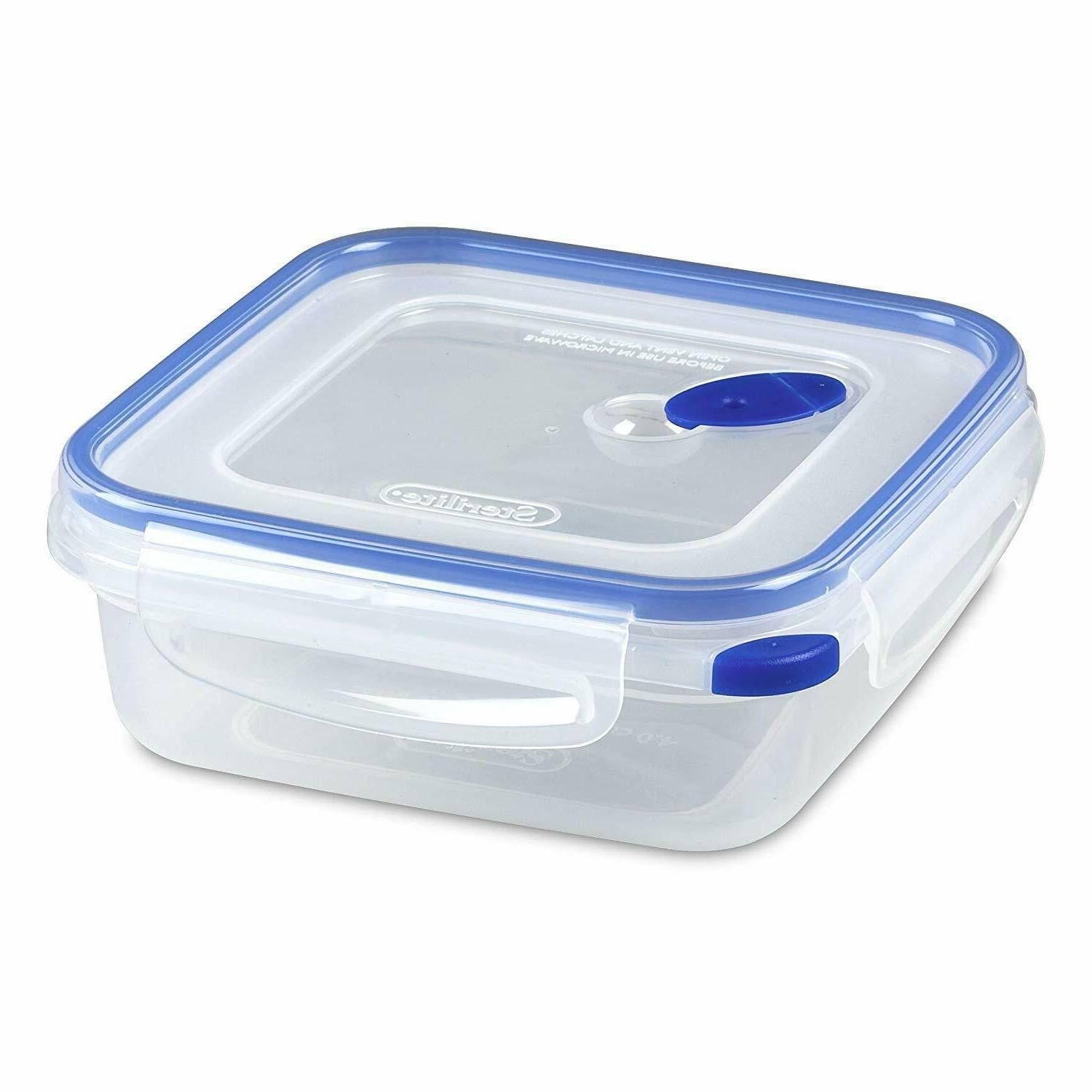 Sterilite Ultra-Seal 4 Cup Food Storage Container