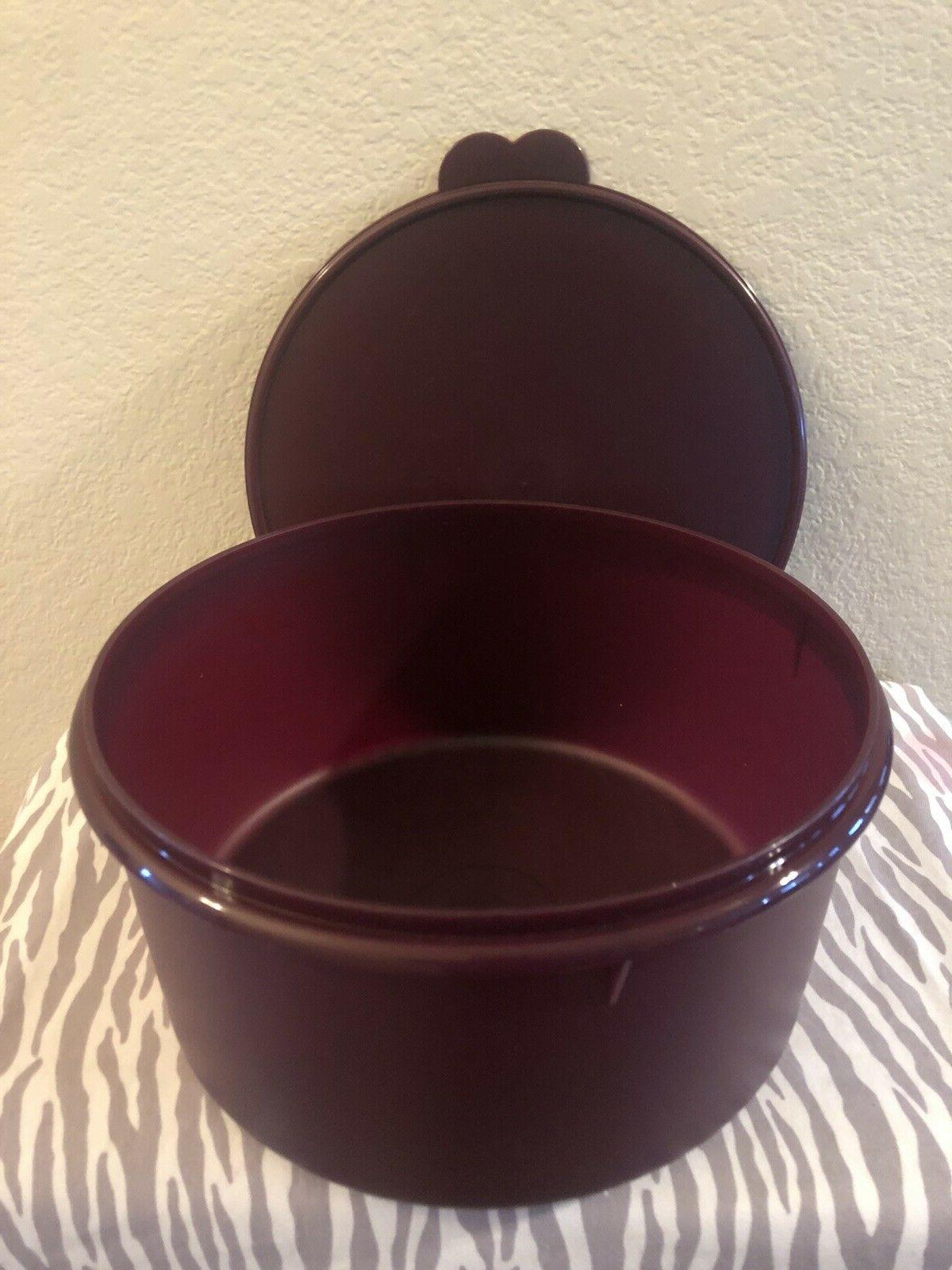 Tupperware Vintage Cake Carrier 42 Cups New