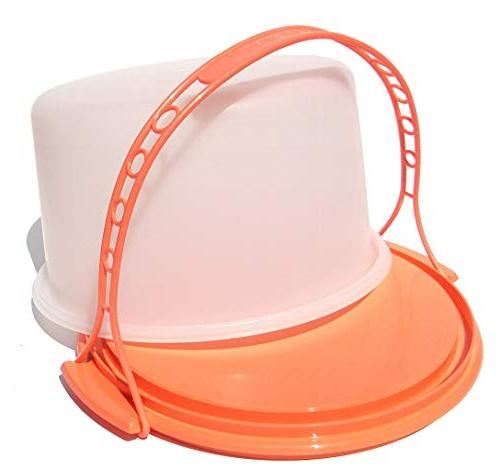 vintage round dome cake taker