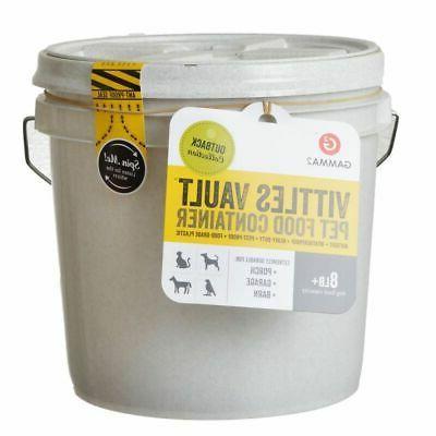 GAMMA2 Vault 8 lb Airtight for Food Storage, Food Grade and BPA Free