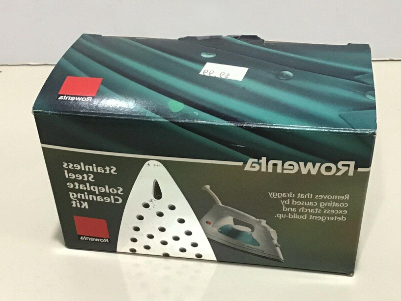 Rowenta Zd100 Non-Toxic Steel Cleaner Kit For Steam