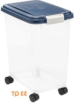 Large Dry Pet Food Storage Sealed Container Bin Dog Cat Supp