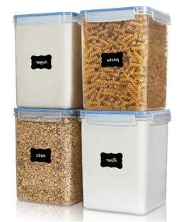 Large Food Storage Containers 5.2L / 176oz, Vtopmart 4 Piece
