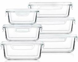 Bayco Large Glass Food Storage Containers