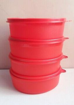 Tupperware Large Handy Bowl 500ml 4 PC Storage Aritight Liqu