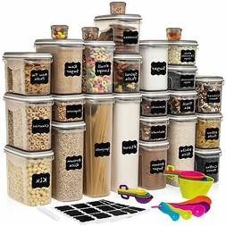 LARGEST Set of 52 Pc Food Storage Containers  Shazo Airtigh.