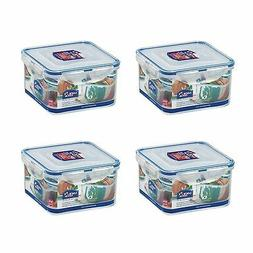 LOCK & LOCK Airtight Square Food Storage Container 40.58-oz