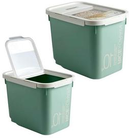 Lock & Lock New Grain Rice Cereal and Pet Food Container Bin