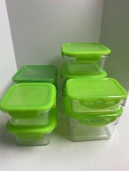 Lock N Lock Food Storage CONTAINERS Assortment USED