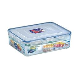 LOCK & LOCK Rectangular Food Container with Divider, Short,
