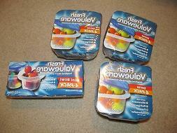 Lot of 4 Fresh Valueware 4-Pk Entree &Mini Bowl Food Storage