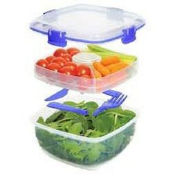 Sistema Lunch Collection Salad Food Storage Container, 37 Oz