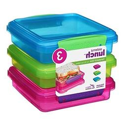 Sistema Lunch Collection Sandwich Box Food Storage Container