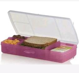 Tupperware Lunch N Things Divided Container Organizer Fuschi