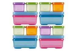 Rubbermaid LunchBlox Sandwich Kit, Food Storage Container, 4