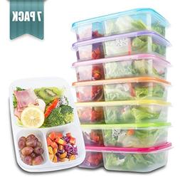 meal prep containers 3 compartment