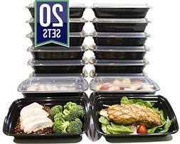 32 Oz. Meal Prep Containers BPA Free Plastic Reusable Food