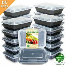 meal prep containers single 1compartment with lids