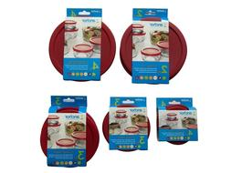 Anchor Hocking Meal Prep Replacement Cover Lid Set 1, 2, 4,
