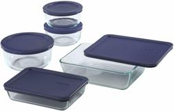 meal prep simply store glass food container