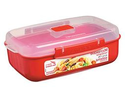 Sistema Microwave Cookware Rectangular Bowl, 41.6 Ounce/ 5.2