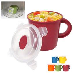 Microwave Food Soup Container Cookware Cup Mug Noodles Bowl