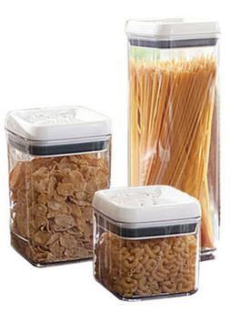 Modern Home 3-Piece Airtight Food Storage Durable Plastic Co