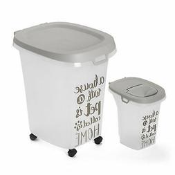 moderna trendy dog food storage container