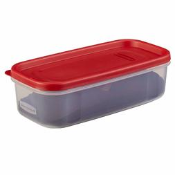 Rubbermaid Modular Food Storage Container 5 Cup Racer Red 17