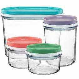 Nestable Food Storage Containers Plastic Kitchen Food Storag