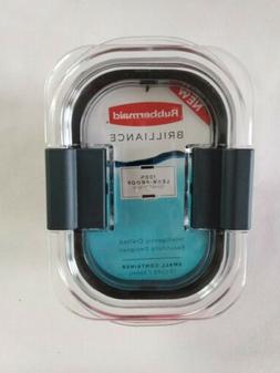 NEW Rubbermaid Brilliance Small Container 1.3 Cup 100% Leak-