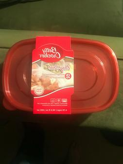 New Betty Crocker Easy Seal Food Storage Containers 30.3 Fl