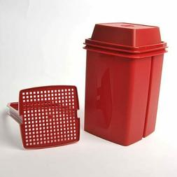 TUPPERWARE New PICK-A-DELI CONTAINER Red