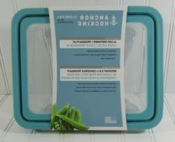 New Anchor Hocking® TrueSea 11-Cup Rectangular Food Storage
