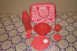 New Tupperware Lunch Bag Set
