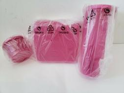 NEW Tupperware Spring Lunch Set Pink Sheer Tumbler Cup Box K