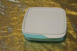 New Tupperware Square with Divisions Lunch Box Container Pin