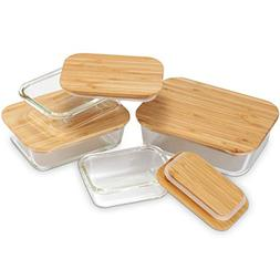Nummyware Plastic-free Glass Food Containers with Sustainabl