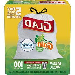 Glad OdorShield Tall Kitchen Drawstring Trash Bags - Gain Or