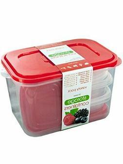 Kole OL630 Ultimate 50 Piece Food Seal Storage Container Var