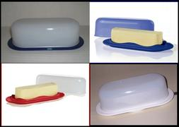 TUPPERWARE OPEN HOUSE 2 Pc BUTTER KEEPER / STORAGE CONTAINER
