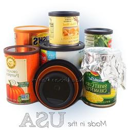 PANTRY LIDS Reusable Tin Can Covers/Couvercles for canned PE