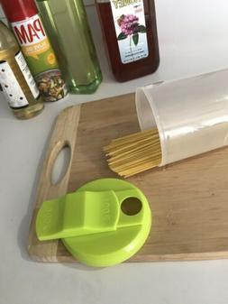 Pasta Container Food Storage Spaghetti Cereal Keeper Plastic