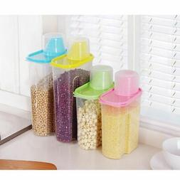 Pet Cat Dog Food Storage Container Sealed Cans Foods Cup Lar