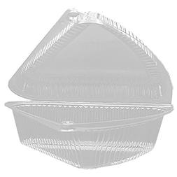 Pie Wedge Container, 6 ct.