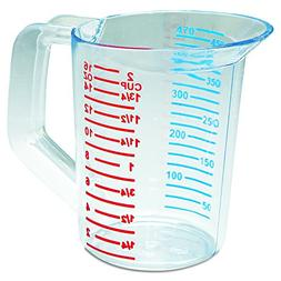 Rubbermaid Commercial 3215 1 pint Capacity, Clear Color, Pol