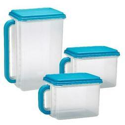 Plastic Bulk Food Storage Containers 3 Kitchen Organization