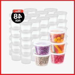 plastic deli food storage containers with leak