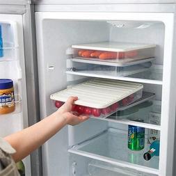 Plastic <font><b>Storage</b></font> Bins Refrigerator <font>